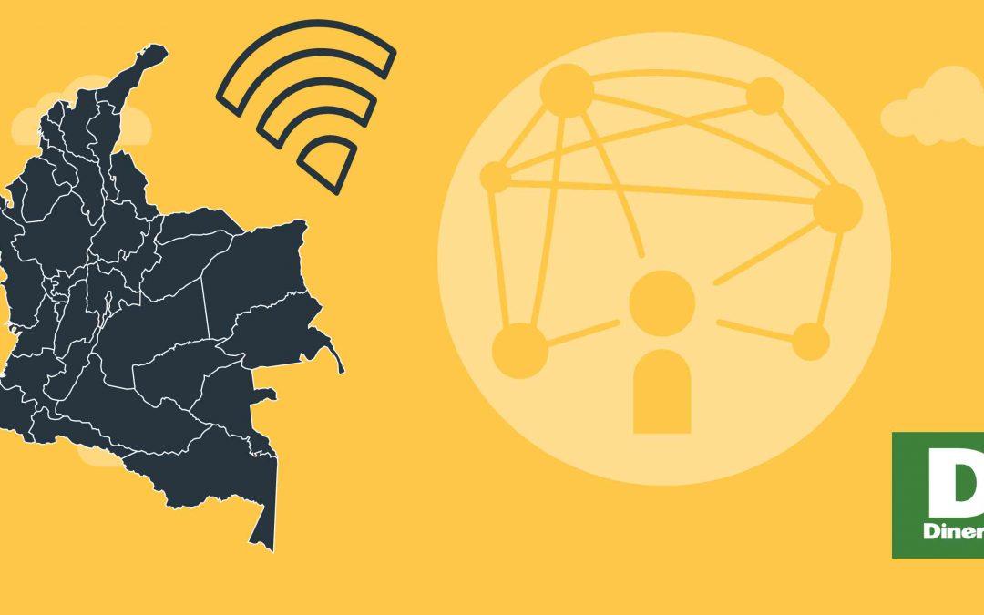 Así está Colombia conectada a Internet