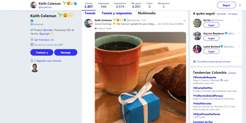 Twitter renueva la cámara de su 'app'
