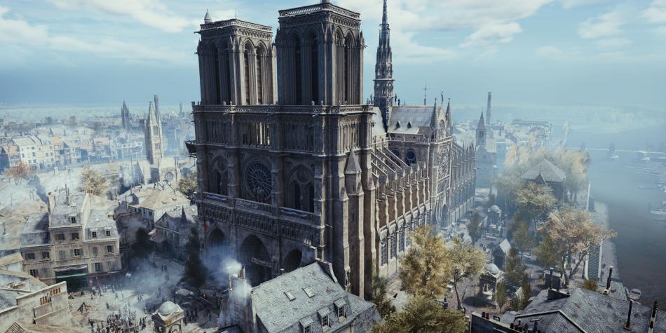 Notre Dame vive en 'Assassin's Creed Unity'