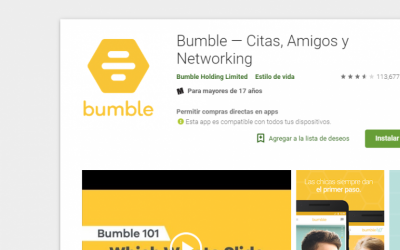 La 'app' de citas Bumble abre café y bar de vino en Nueva York